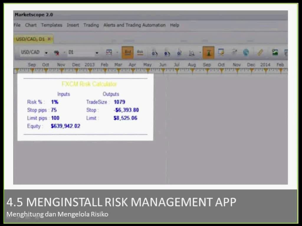 Menginstall Risk Management App