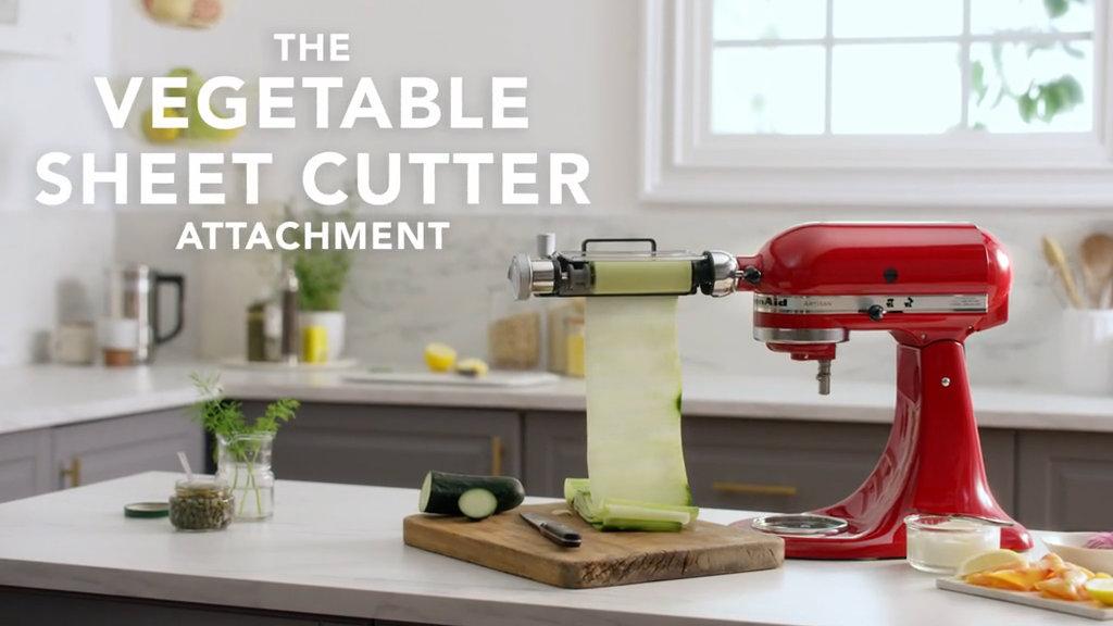 kitchenaid vegetable sheet cutter. kitchenaid vegetable sheet cutter
