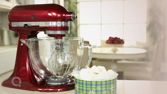 Kitchenaid 5 Qt 325w Tilt Head Stand Mixer W Glass Bowl