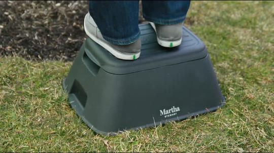 Astonishing Martha Stewart Multi Function Step Stool Qvc Com Machost Co Dining Chair Design Ideas Machostcouk