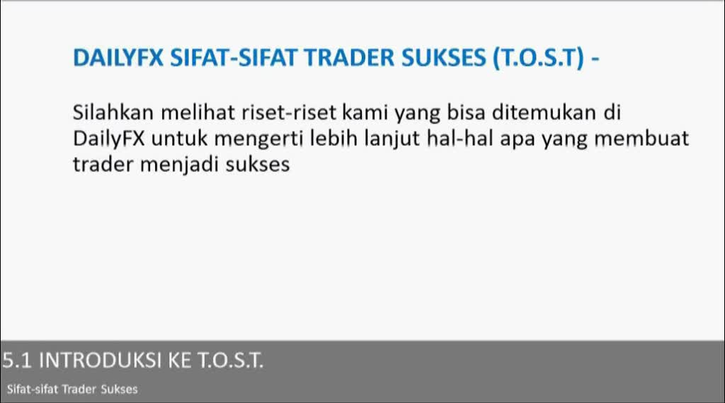 Introduksi kepada T.O.S.T (Traits of Successful Traders)