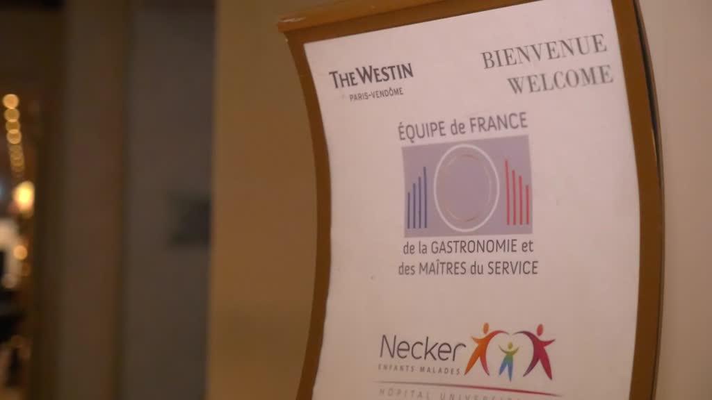 Equipe de France de la Gastronomie et des Maitres du Service - diner de Gala 2019