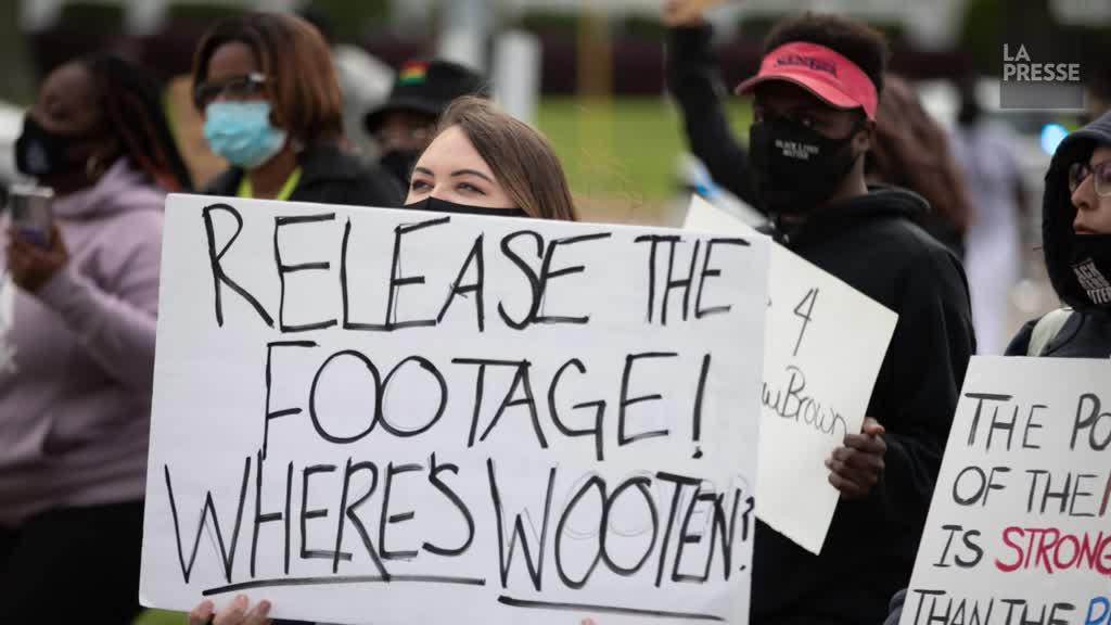 Un Afro-Américain tué par la police d'une balle à l'arrière du crane