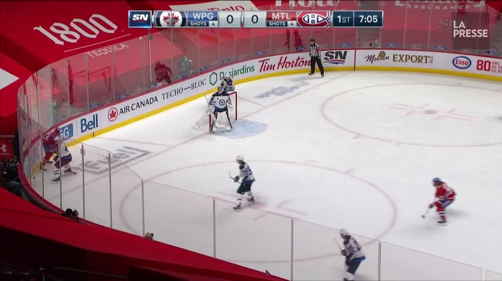 Jets 1 - Canadien 7: les faits saillants