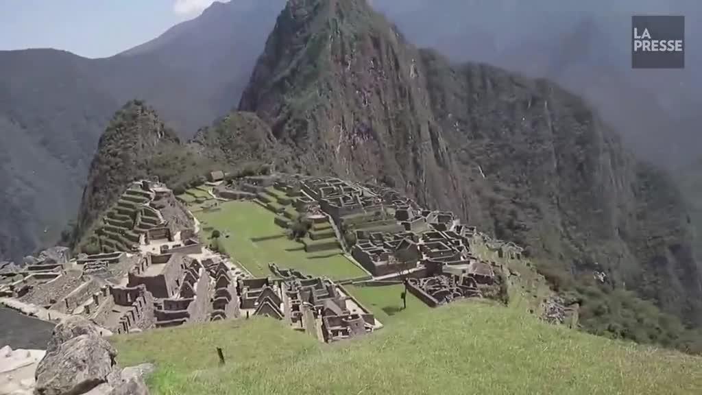 Pandémie : le Machu Picchu rouvre… pour un seul touriste
