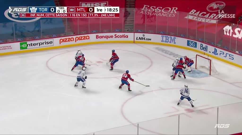 Maple Leafs - Canadien: les faits saillants