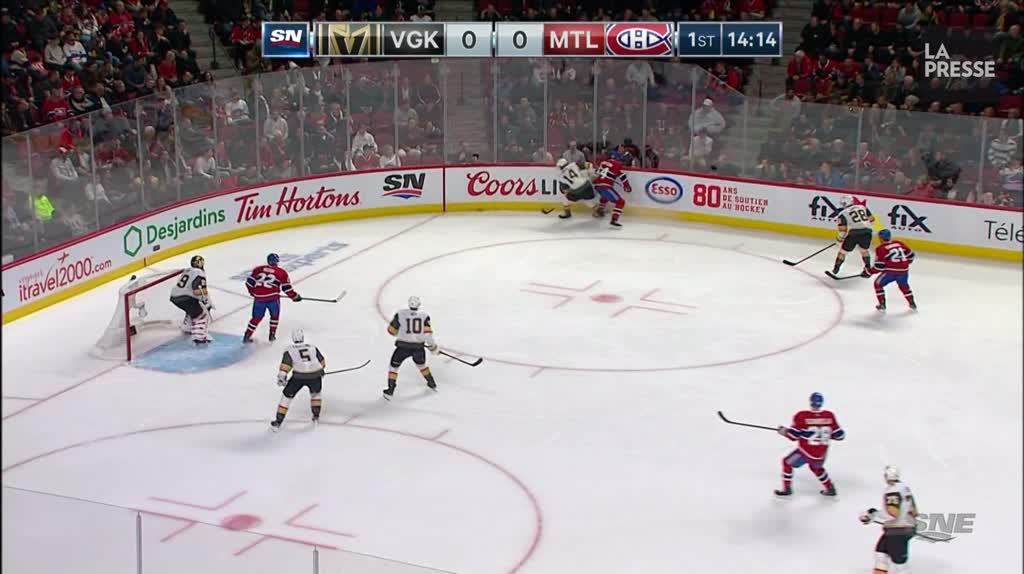 Golden Knights 4 - Canadien 5: les faits saillants