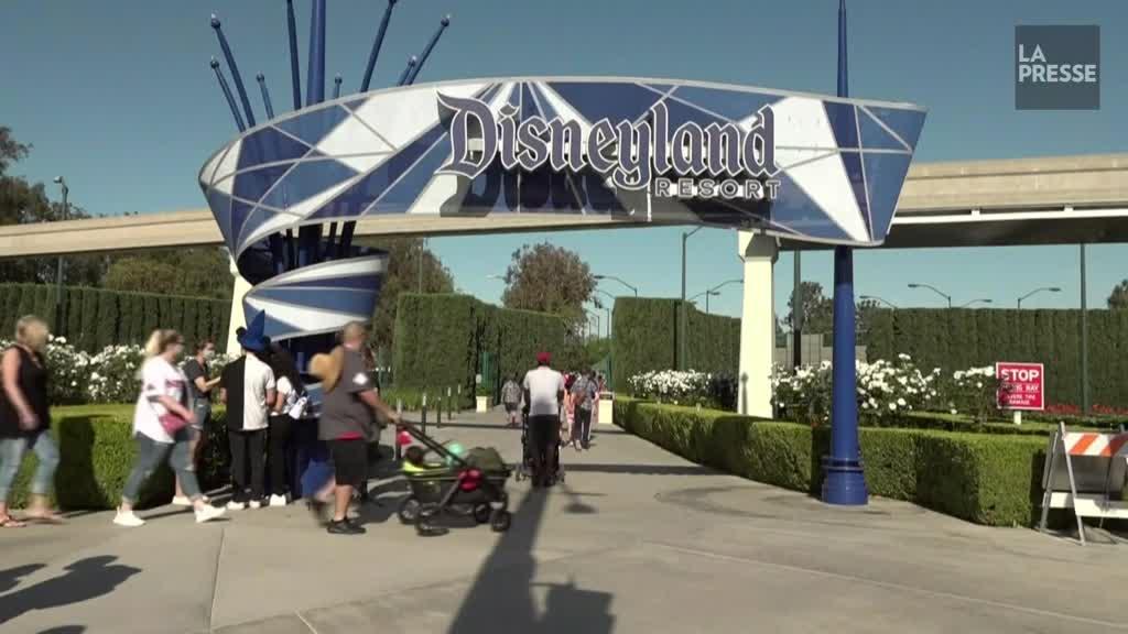 Disneyland rouvre ses portes après une fermeture d'un an