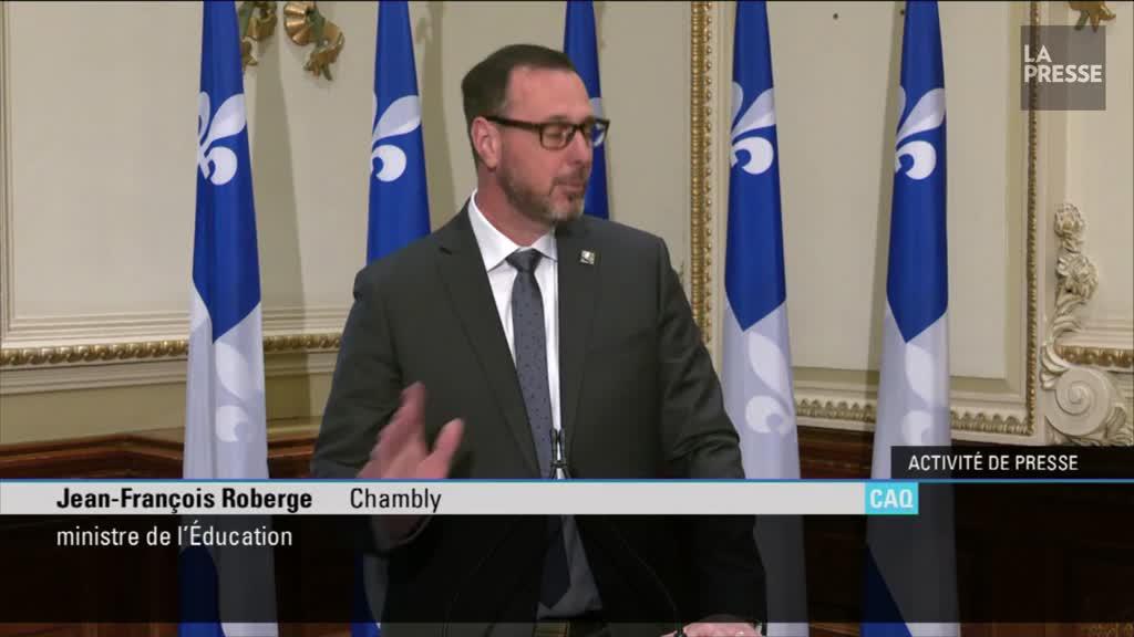 Qualité de l'air dans les écoles: La moitié des classes atteignent les cibles, selon Québec