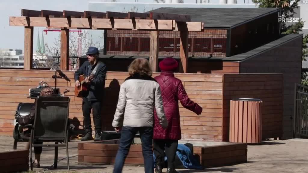 Un peu de soleil et de musique au Manoir Outremont