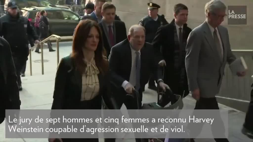 Harvey Weinstein déclaré coupable