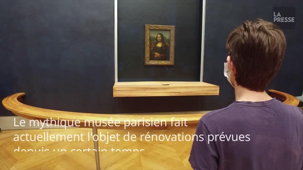 Le Louvre profite de la pandémie pour rénover