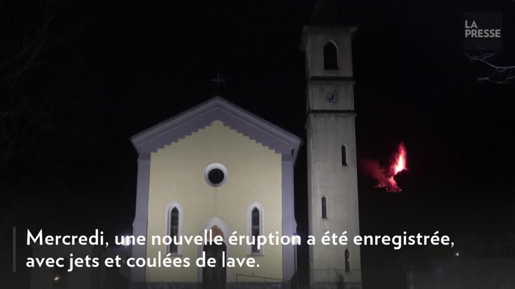 Nouvelle et spectaculaire éruption de l'Etna