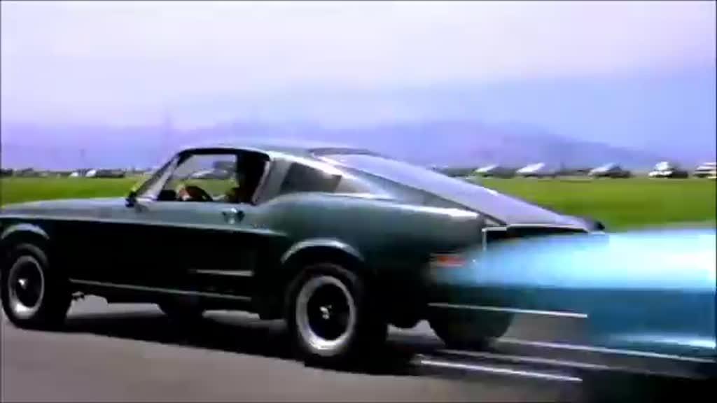 La Mustang Bullitt de Steve McQueen adjugée 3,7 millions de dollars - scène de la poursuite (fin)