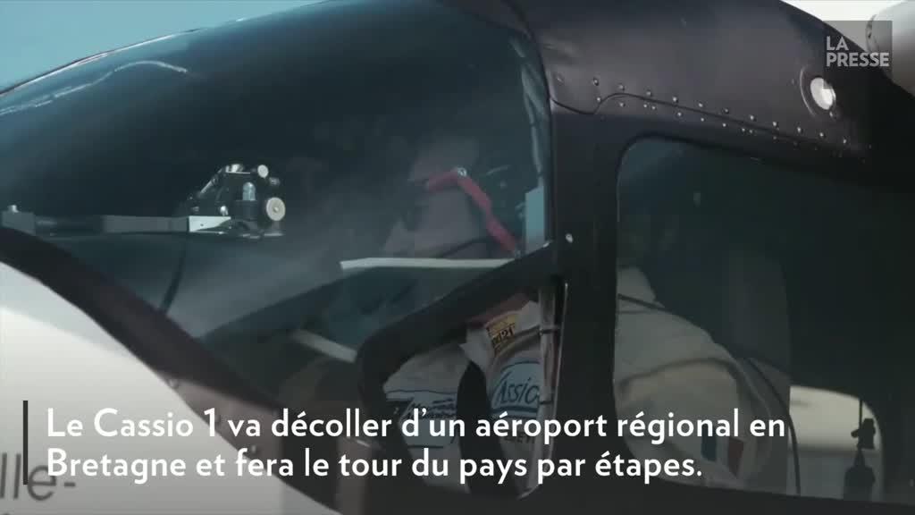 Un tour de France aérien pour un hybride essence-électricité à 10 passagers