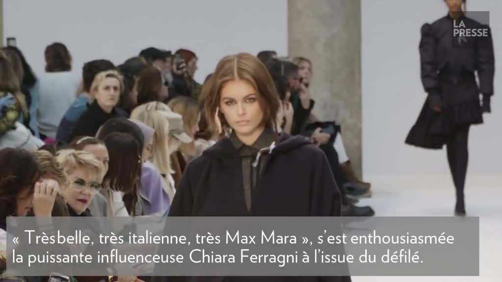 Max Mara s'inspire de la marine à Milan