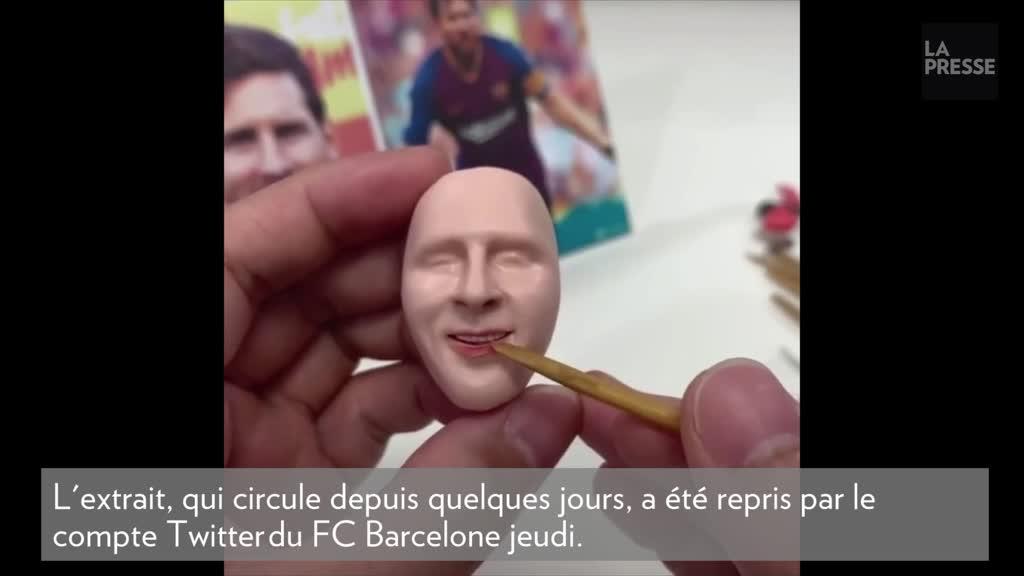 Un Lionel Messi plus vrai que nature