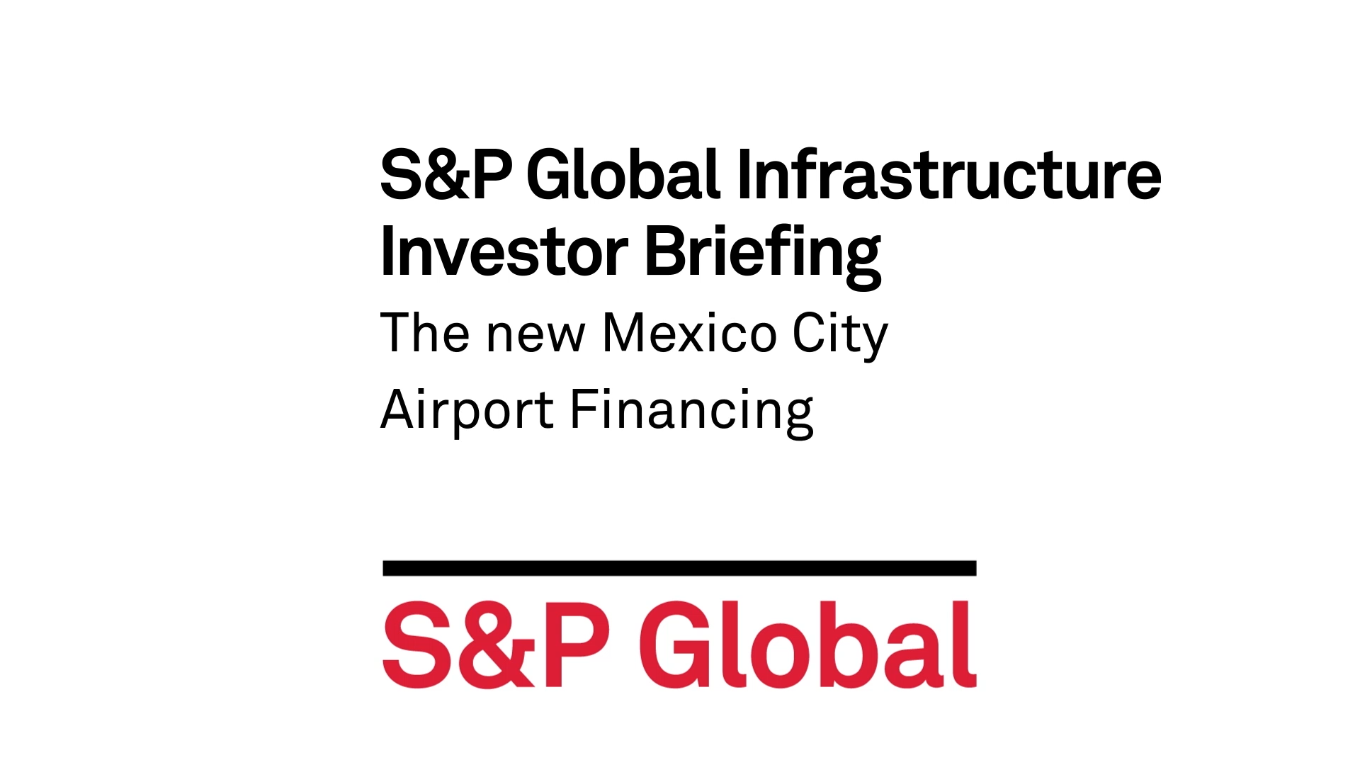Infrastructure Sp Global Ratings Related Image With Current Electricity Notes Senior Director And Joydeep Mukherji Managing Address Inquiries About The Mexico City Airport Trust Future Of Project