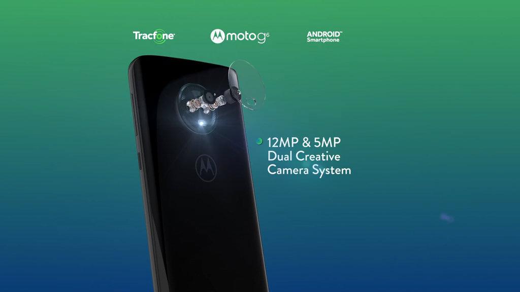 Tracfone Motorola G6 5 7
