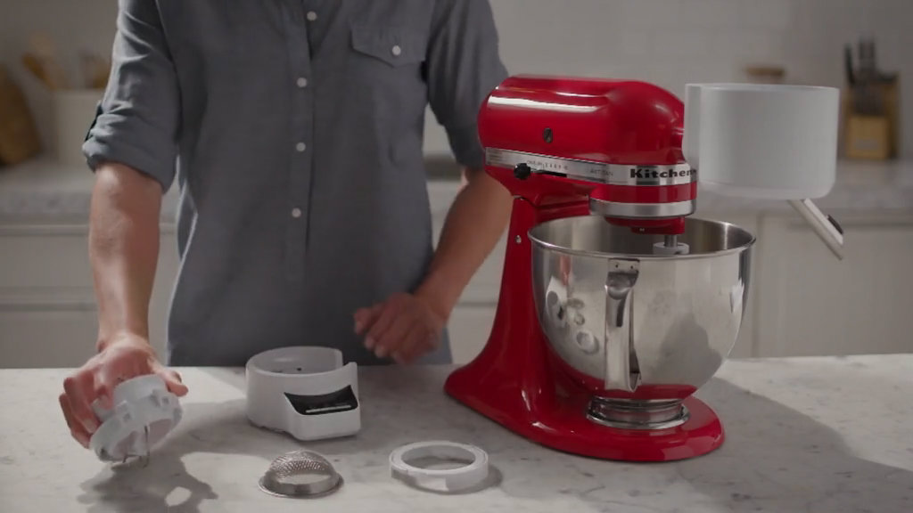 KitchenAid Sifter Stand Mixer Attachment with Scale — QVC.com
