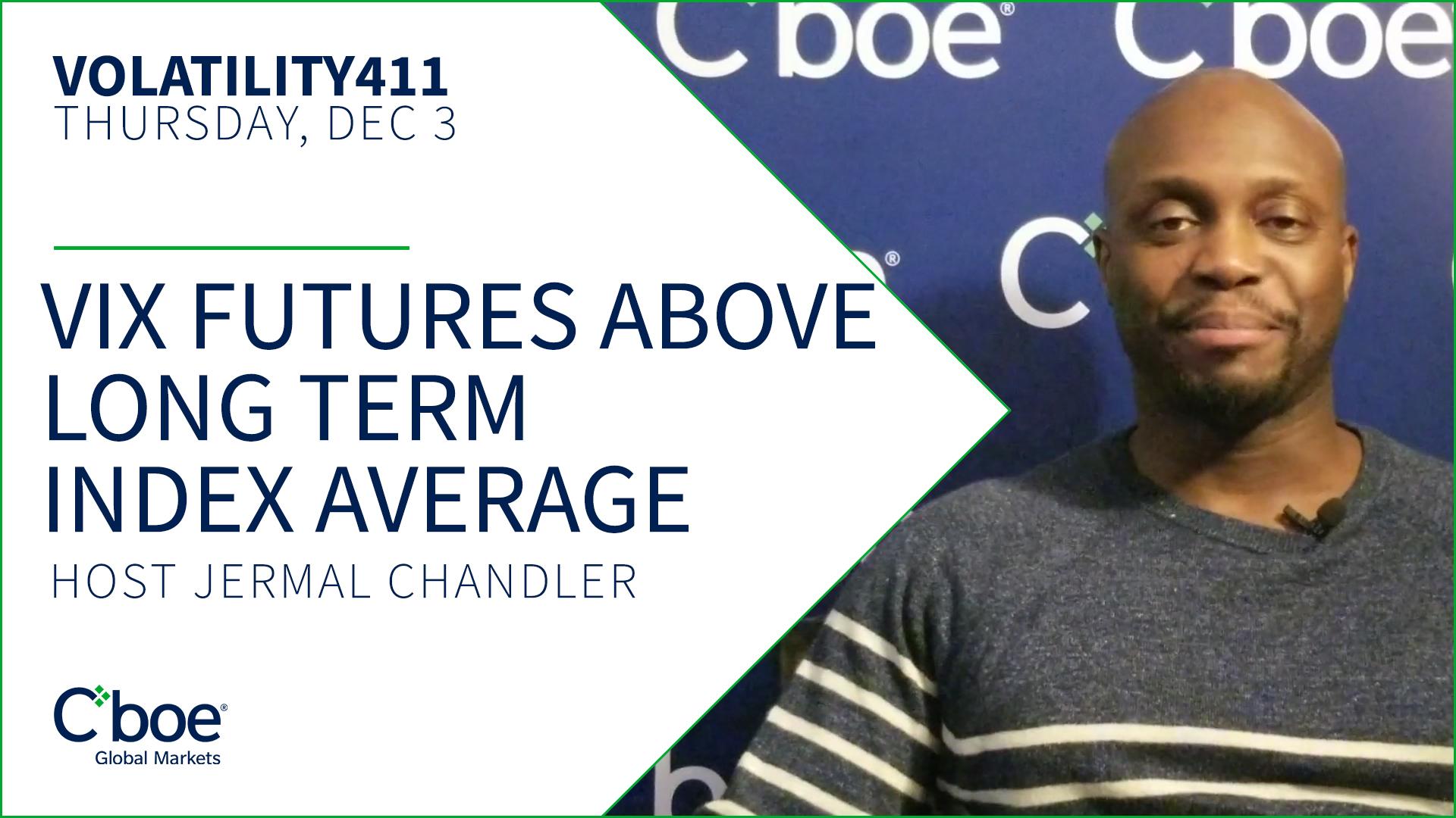 VIX Futures Above Long Term VIX Index Average Thumbnail