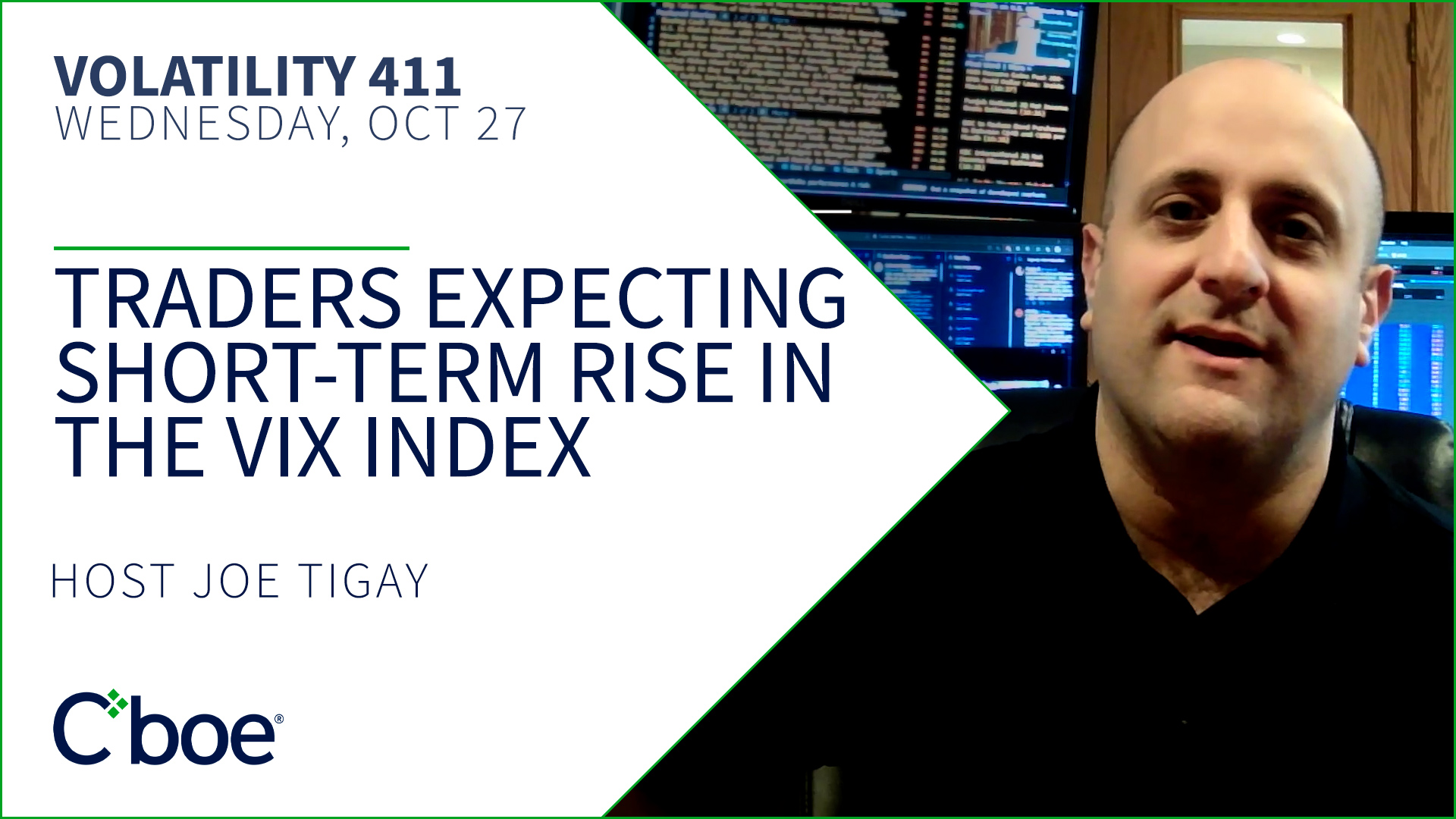 Traders Expecting Short-term Rise in the VIX Index Thumbnail