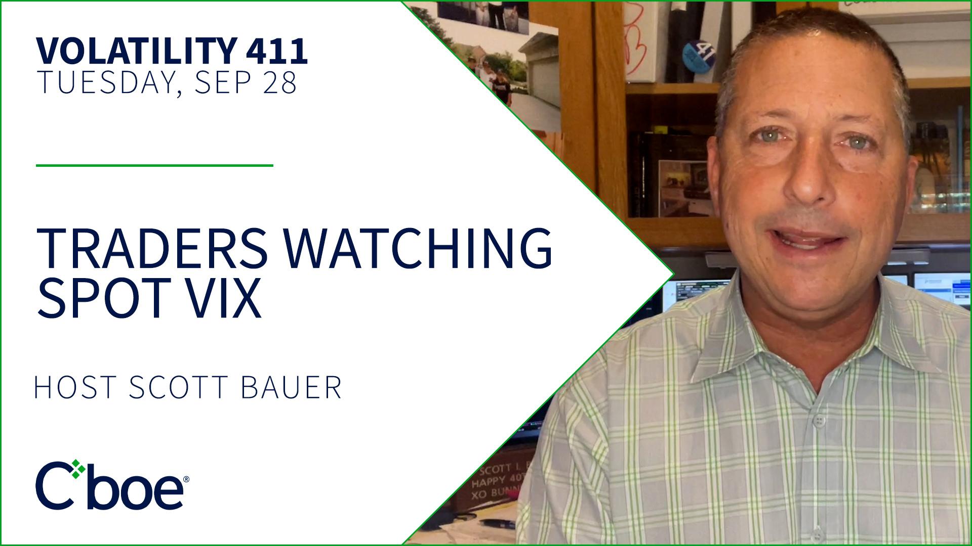 Traders Watching Spot VIX Thumbnail
