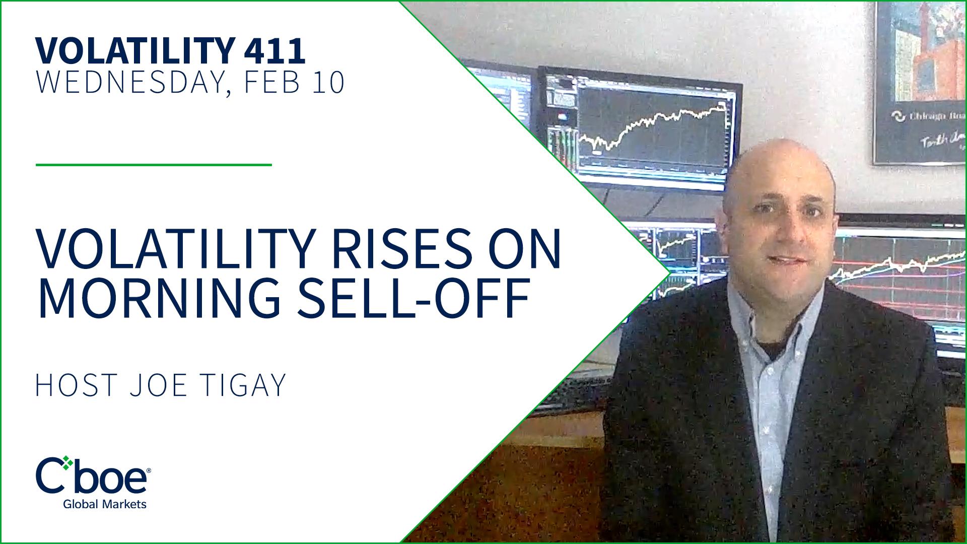Volatility Rises on Morning Sell-Off Thumbnail