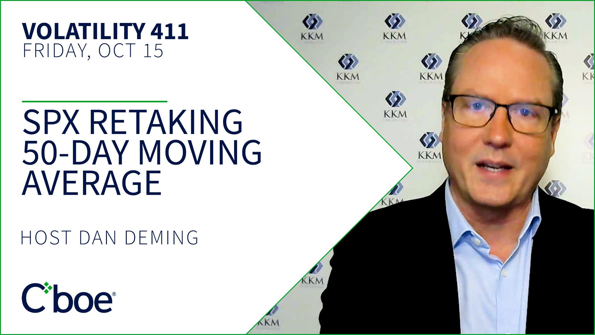 SPX Retaking 50-day Moving Average Thumbnail