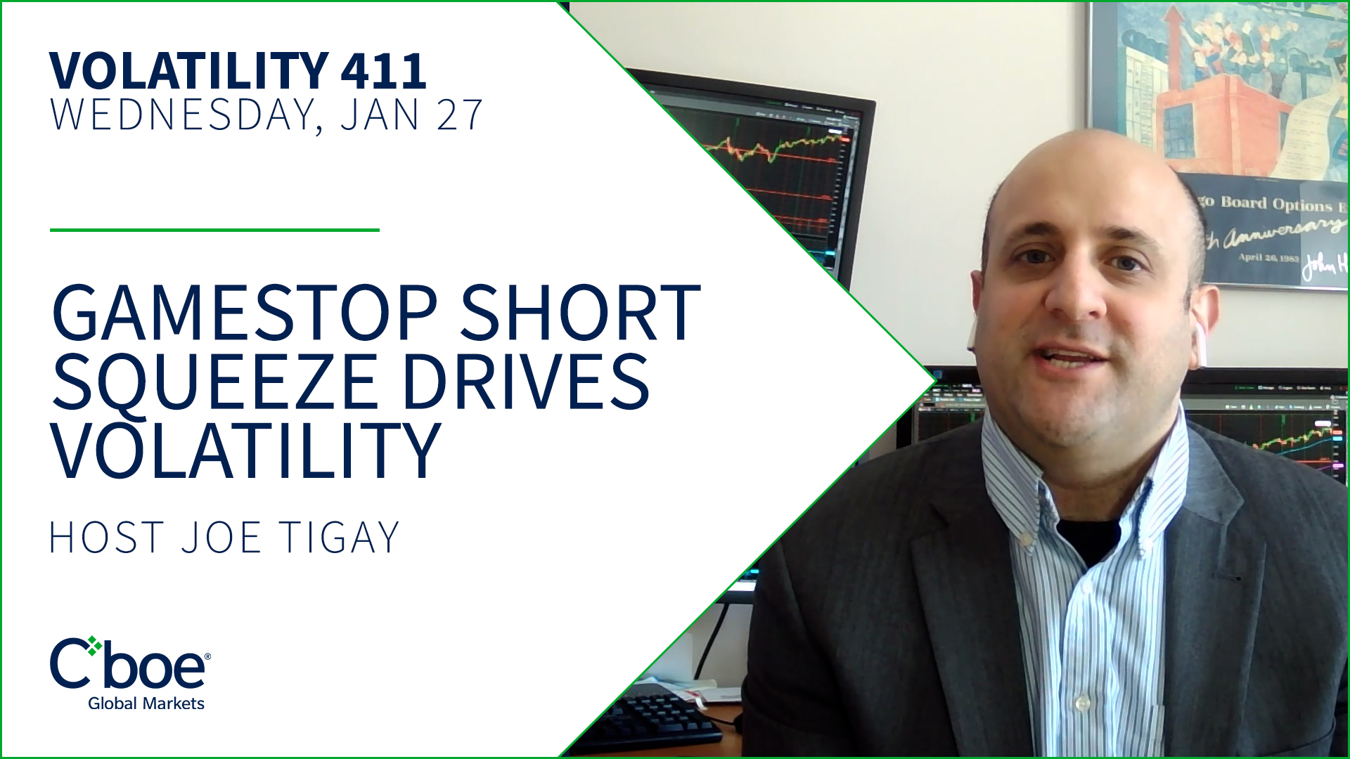 GameStop Short Squeeze Drives Volatility Thumbnail