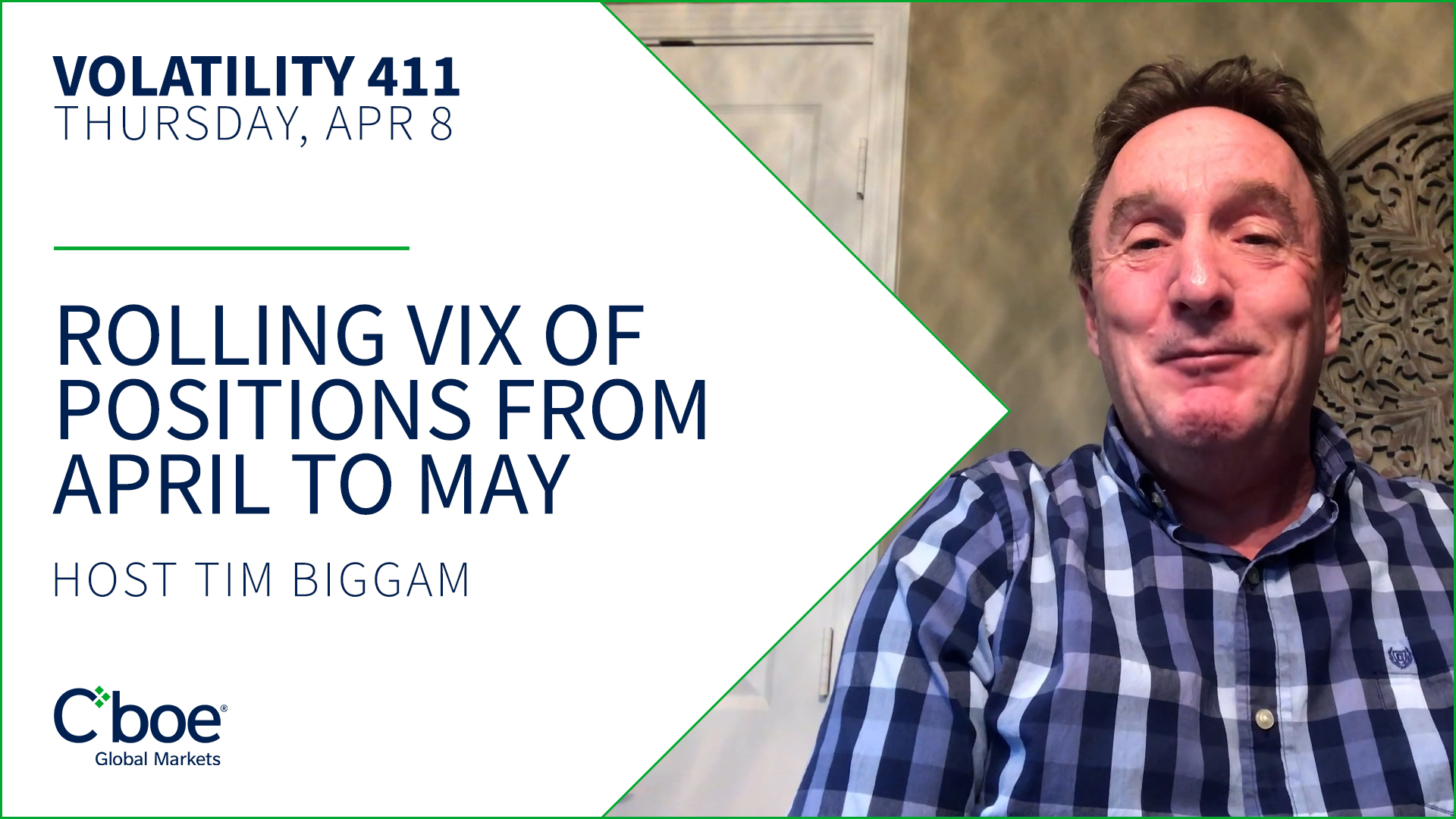 Rolling of VIX Options Positions from April to May Thumbnail