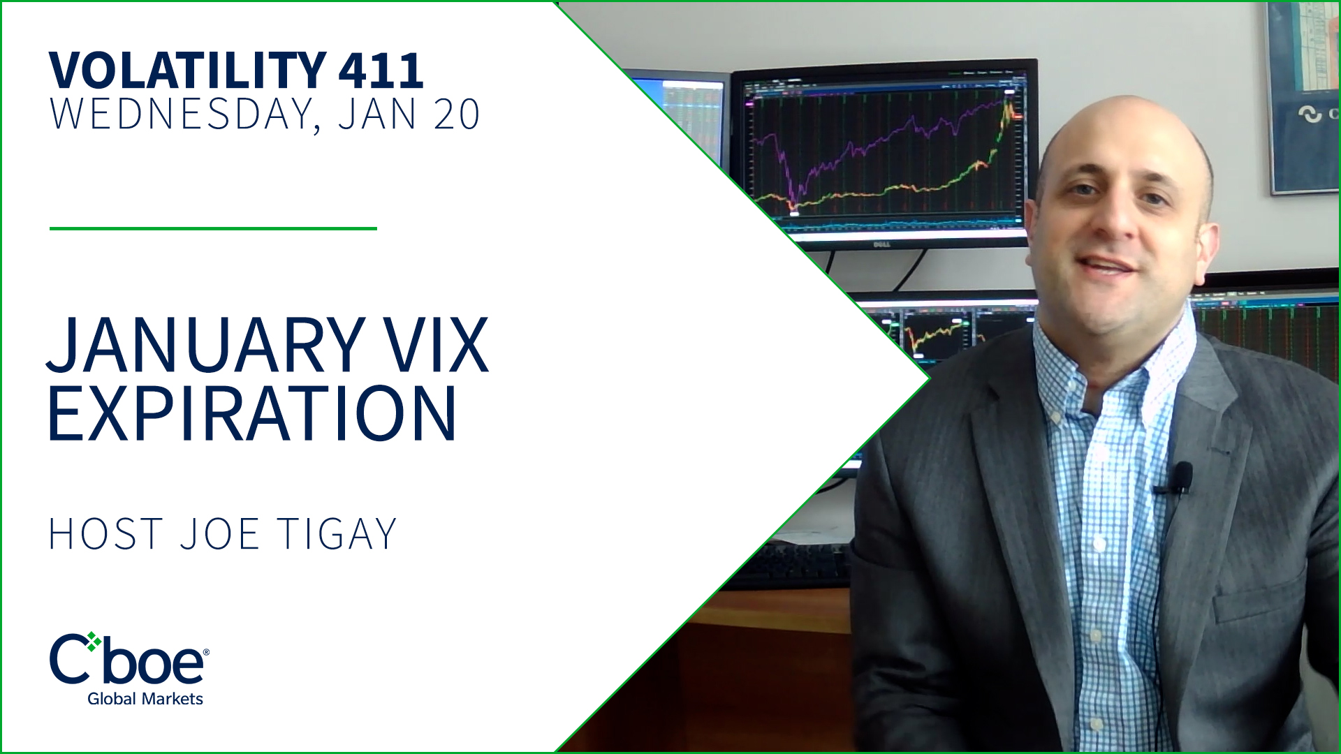 January VIX Expiration Thumbnail