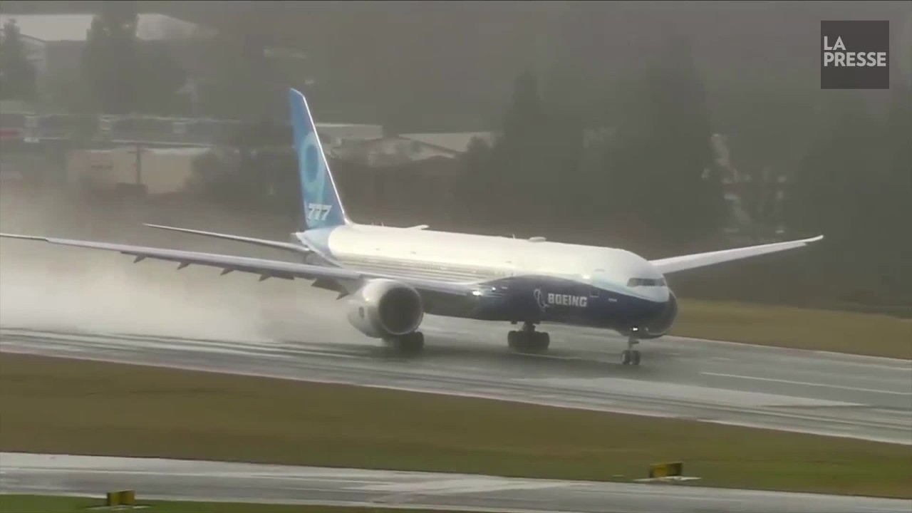 Le Boeing 777X décolle pour son vol inaugural