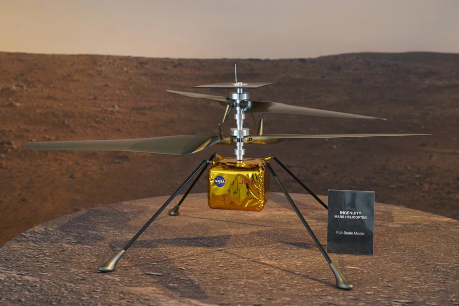 Mission prolongée pour l'hélicoptère Ingenuity