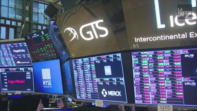 Wall Street ouvre dans le rouge