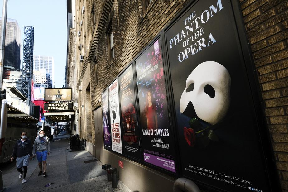 Les théatres de Broadway fermés jusqu'à la fin mai