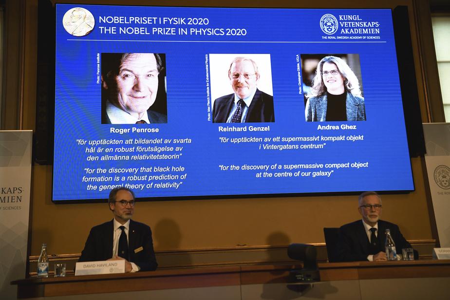 Le Nobel de physique à un trio d'experts des ?trous noirs?