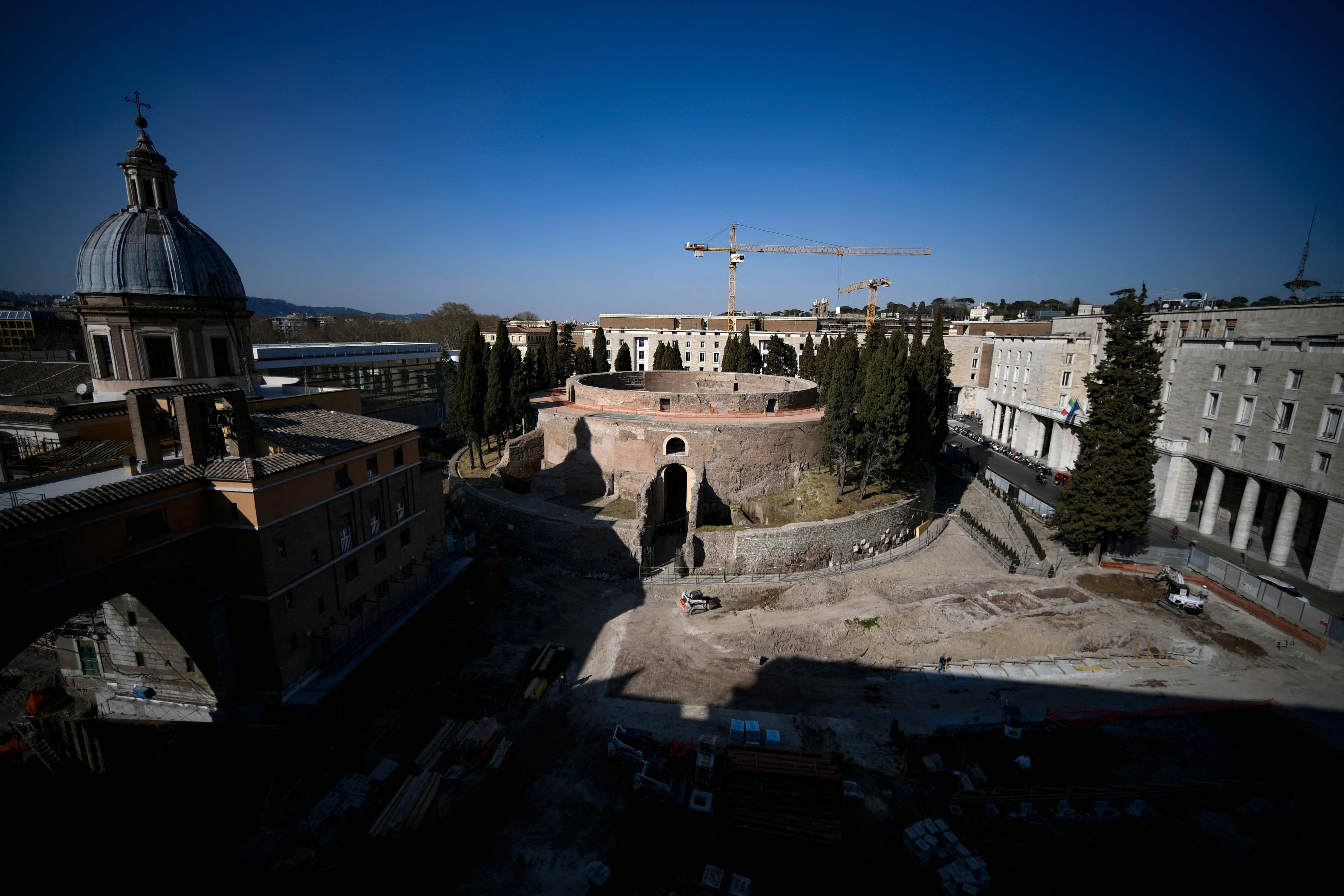 À Rome, la renaissance du colossal mausolée oublié de l'empereur Auguste