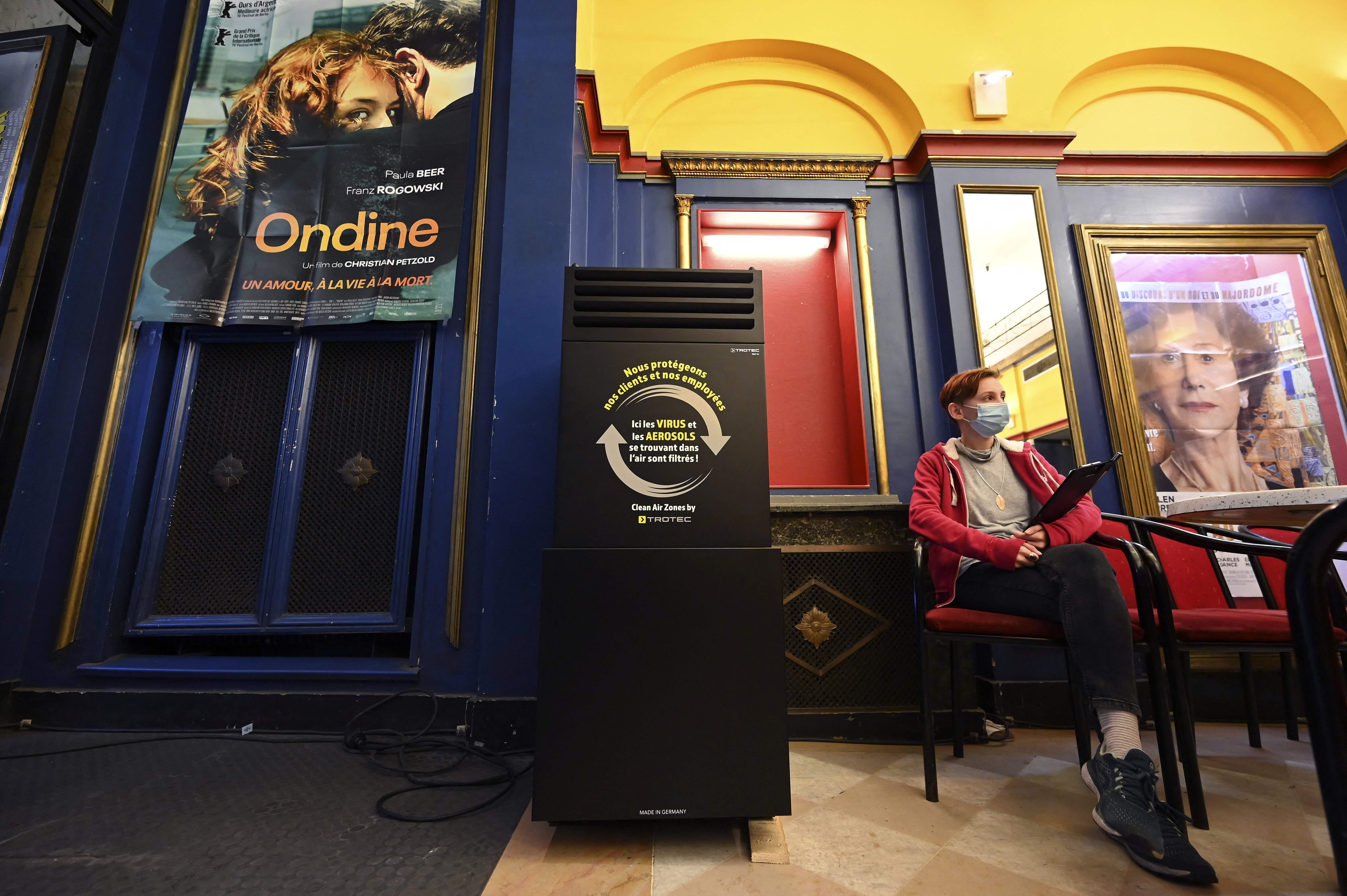 Des super-purificateurs d'air pour ramener les cinéphiles au cinéma