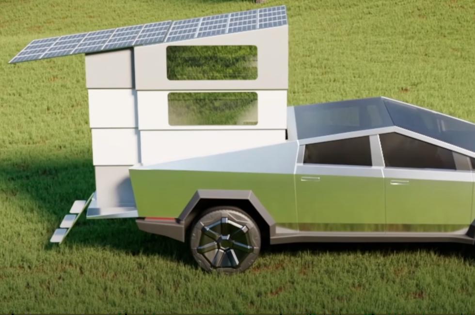 Comment transformer un Tesla Cybertruck en camion-roulotte électrique