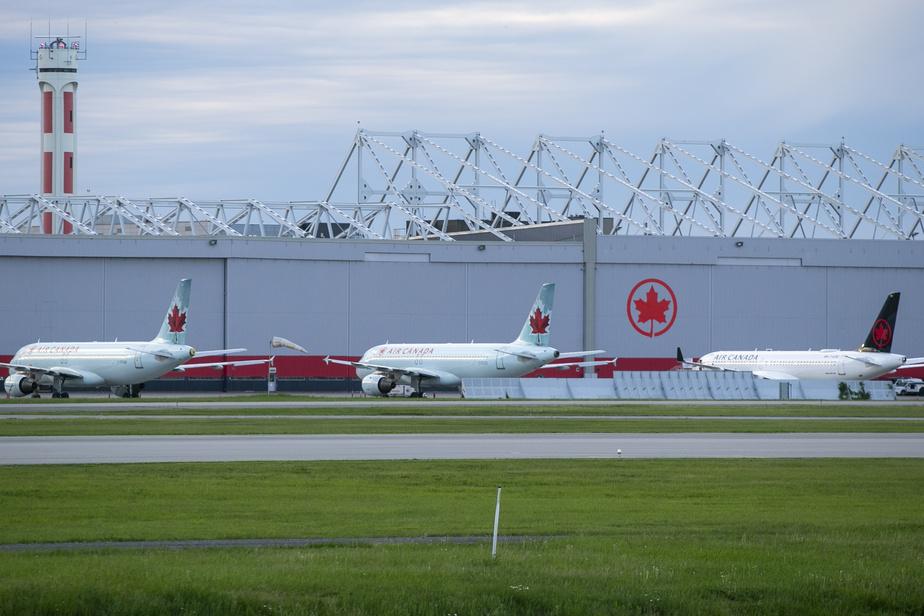 Les revenus d'Air Canada chutentde 89% au deuxième trimestre