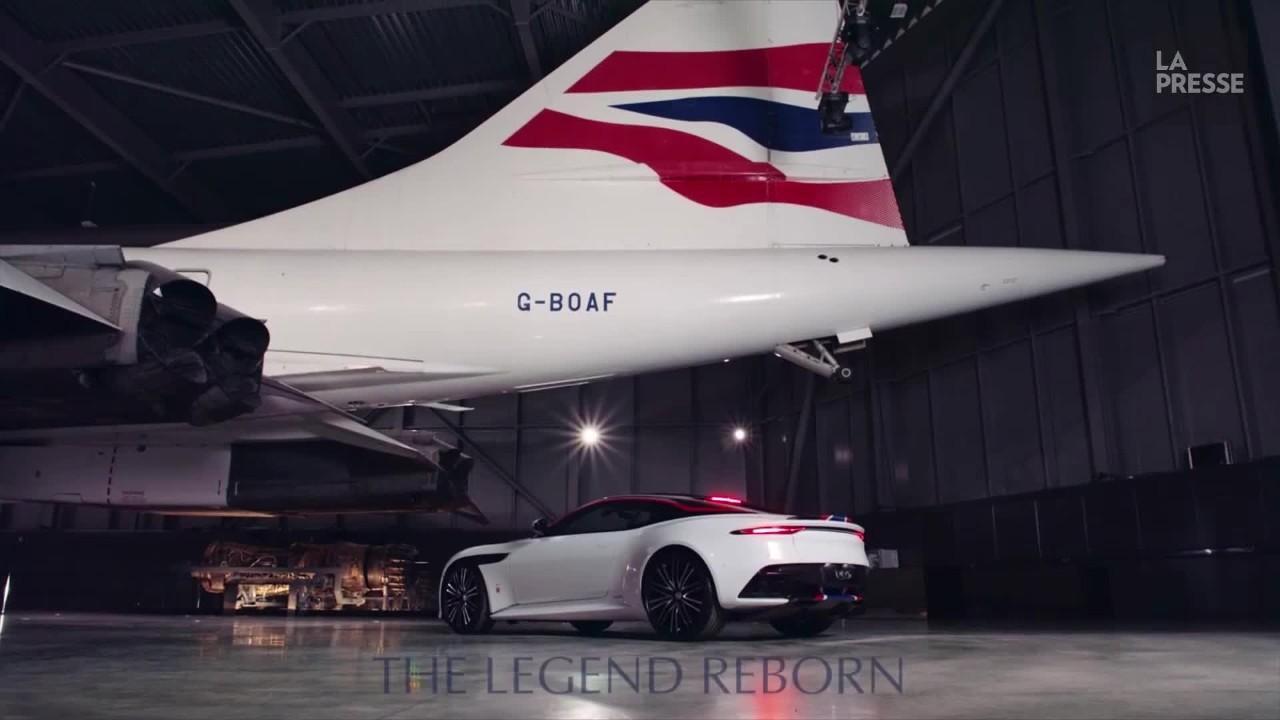 Aston Martin rend hommage au Concorde