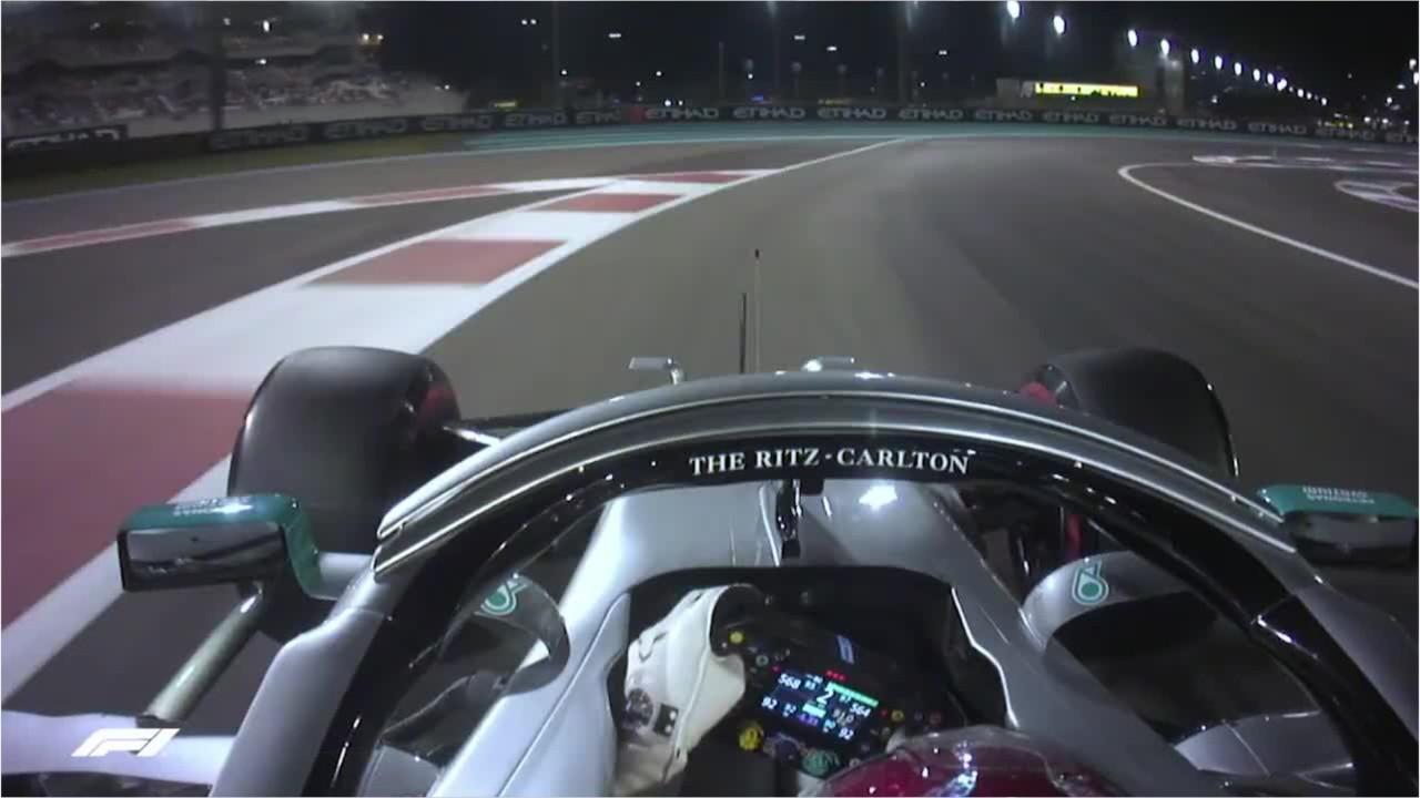 Hamilton obtient la position de tête à Abou Dabi