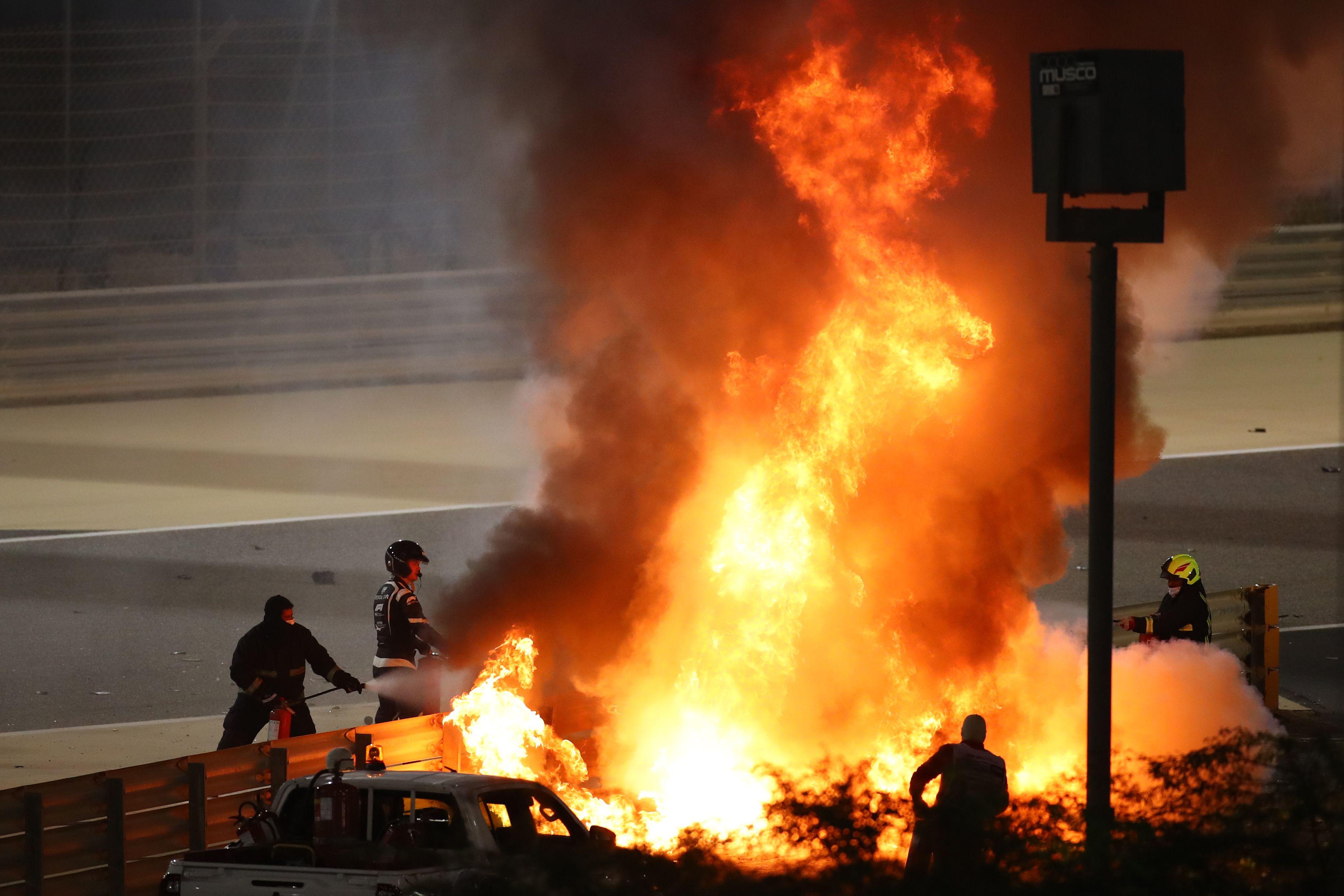 « Des leçons importantes tirées » de l'accident de Grosjean, selon Todt
