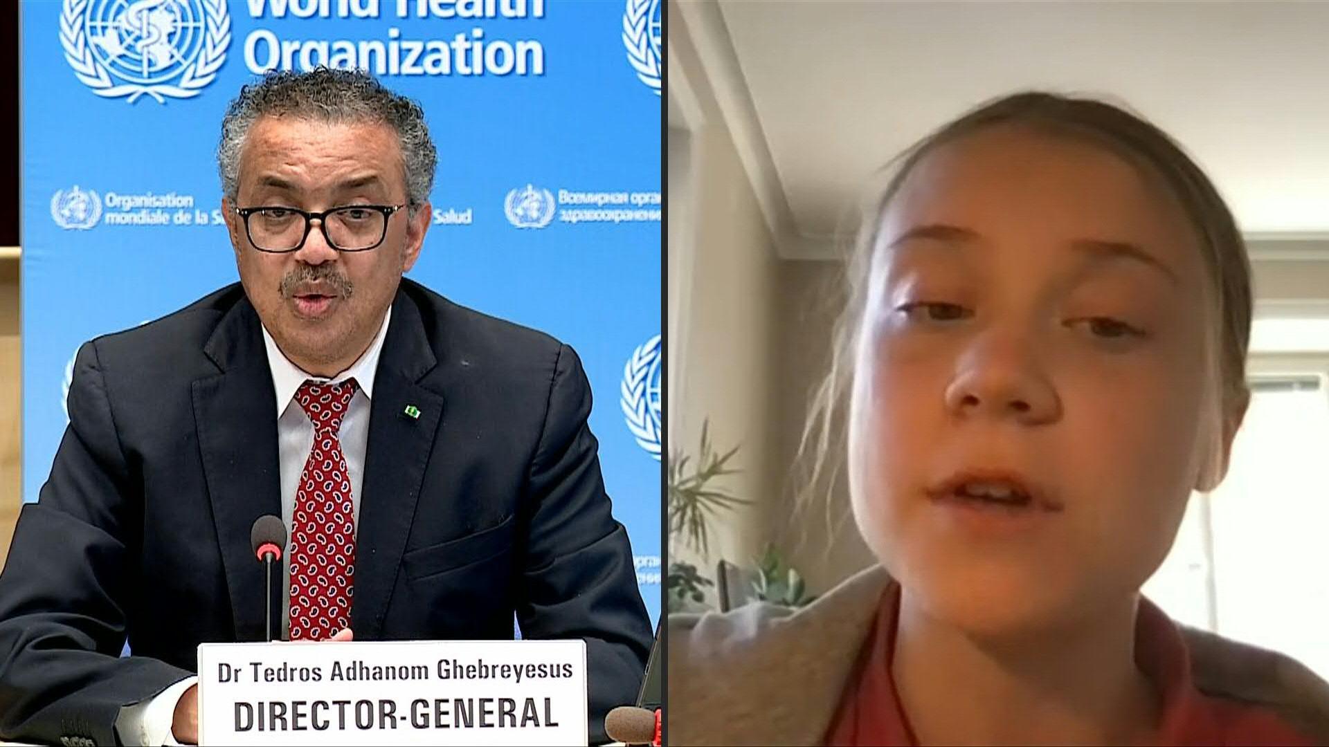 Greta Thunberg apporte son soutien financier au système Covax