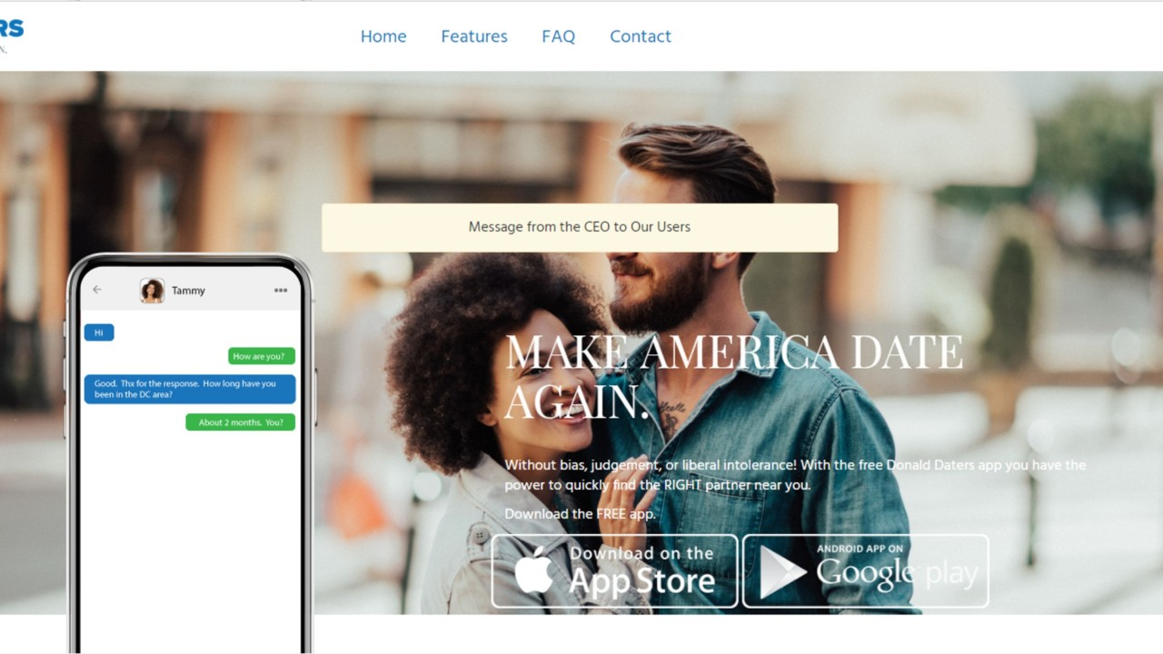 Rencontres mobiles aux Etats-Unis
